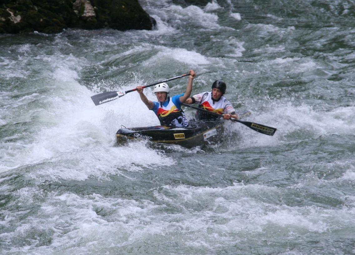 Lea-Sophie Barth U23 Weltmeisterin im Wildwasserrennsport